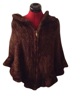 Mink Fur cape/Poncho Cape