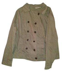 Old Navy Peacoat Coat Khaki Jacket