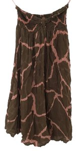 Indah short dress Pink and brown on Tradesy