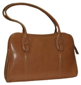 Prüne Satchel in Camel