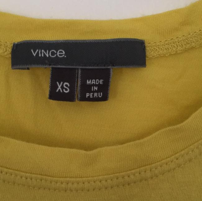 Vince T Shirt Yellow
