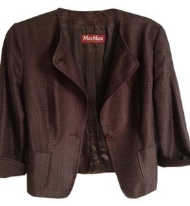 Max Mara studio Dark brown Blazer