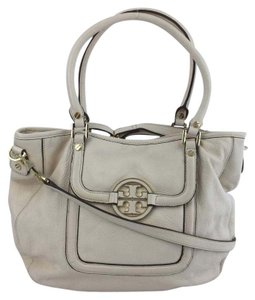 Tory Burch Tb Satchel Tote in White