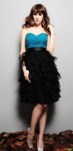Eden Black & Teal 7334 Dress