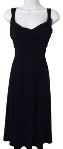 Elie Tahari Scoop Neck Full Skirt Dress