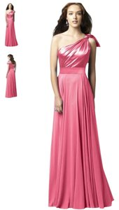 Dessy Full Length One Shoulder Dress