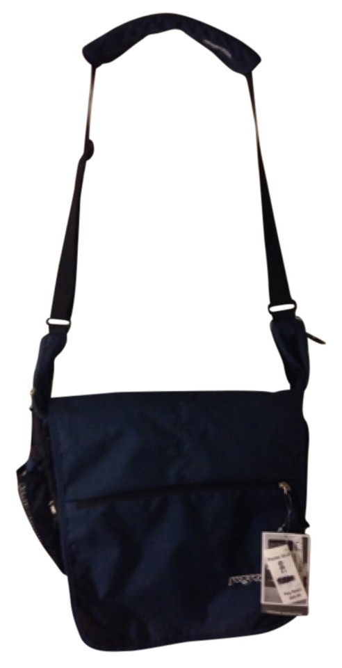 3c7a7cc21824 JanSport Navy Blue Backpack - Tradesy