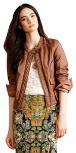 Hei Hei Tan Leather Jacket