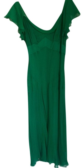 Preload https://img-static.tradesy.com/item/11145037/diane-von-furstenberg-green-dvf-silk-cocktail-tea-length-mid-length-formal-dress-size-2-xs-0-2-650-650.jpg