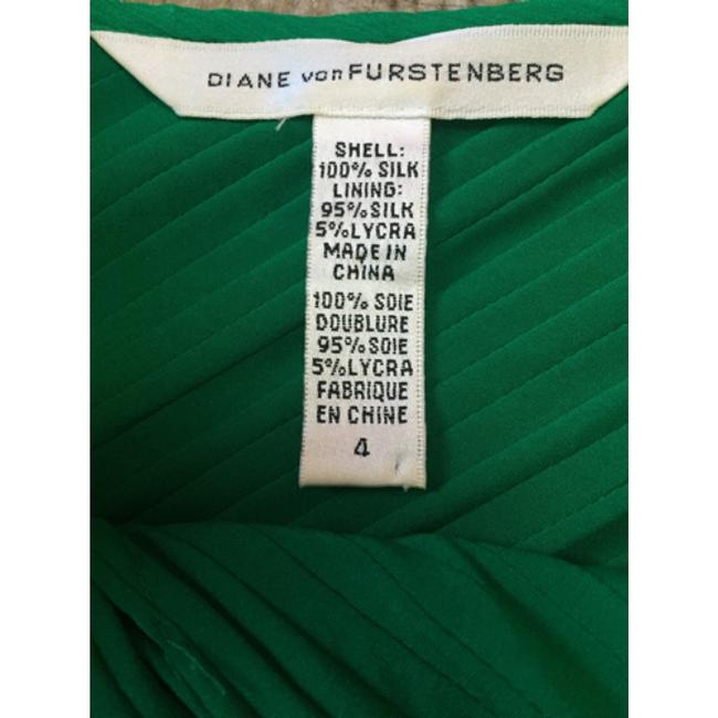 Diane von Furstenberg Dvf Silk Cocktail Tea Length Dress