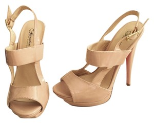 ShoeDazzle Nude Formal