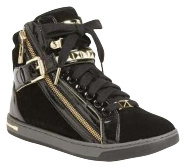 Item - Black Glam Studded High Top Sneakers Size US 6.5 Regular (M, B)