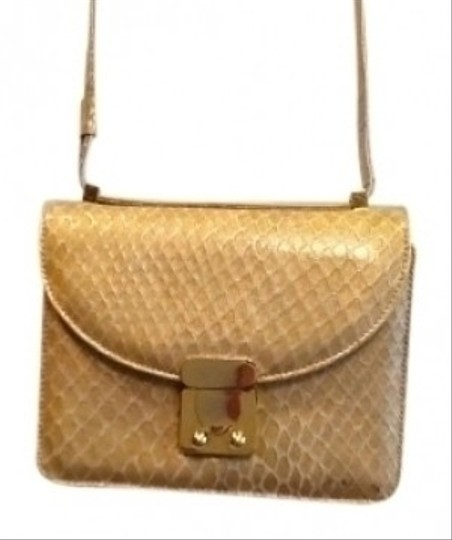 Preload https://item1.tradesy.com/images/stuart-weitzman-yellow-color-embossed-leather-cross-body-bag-111455-0-0.jpg?width=440&height=440