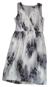 Banana Republic Shell Work Sleeveless Print Dress