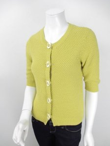 Boden Knit Cotton Button Portofino Cardigan Sweater