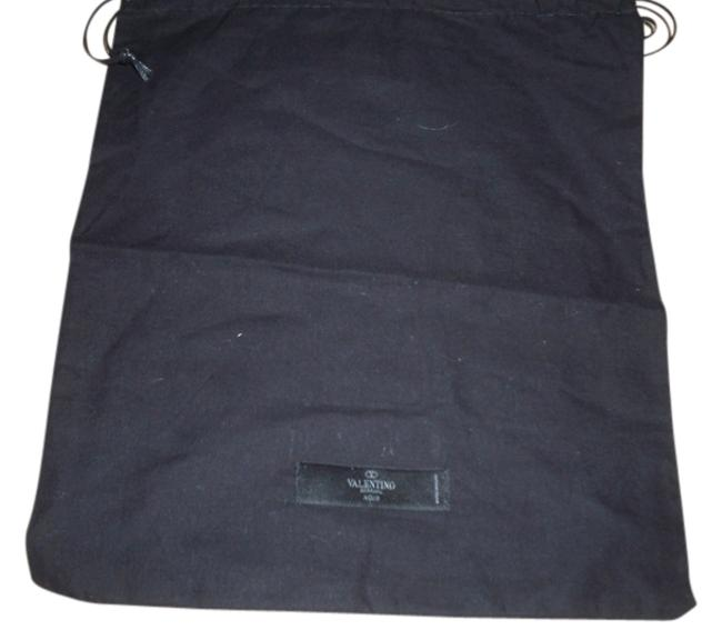 Item - Drawstring New Sleeper/ Dust / Protective Cover 11 Inch X 13 Inch Length. Drawstring Black with White Logoi Cotton Weekend/Travel Bag