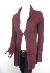 Free People Maroon Mohair Sweater