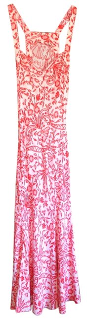 Orange Floral Maxi Dress by Diane von Furstenberg