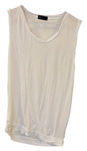 Gap Basic Cheap Muscle Tee Top White