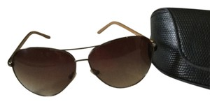 Oscar de la Renta Aviator glasses - brown