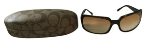 Coach Coach sunglasses- brown