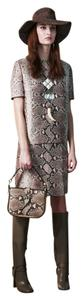 Tory Burch Python Skirt And Top Set Size 6