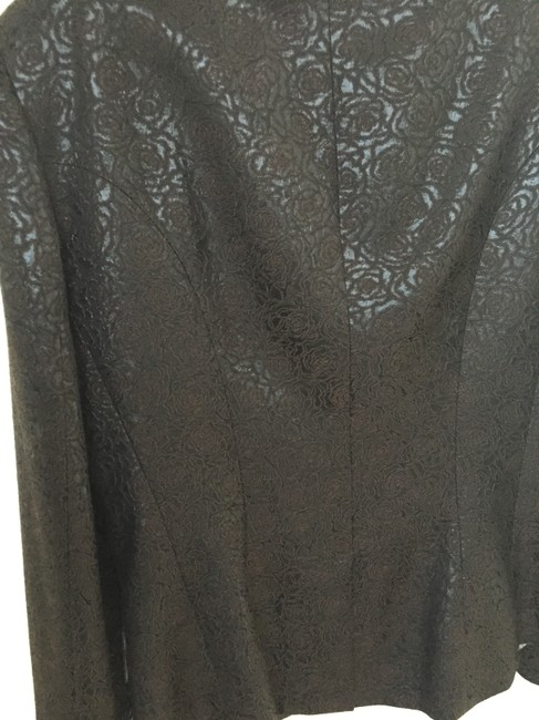 Etro Brown and Black Iridescent Jacket