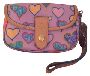 Dooney & Bourke Wristlet in Purple