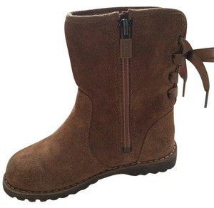UGG Australia Leather Leather Tan Boots