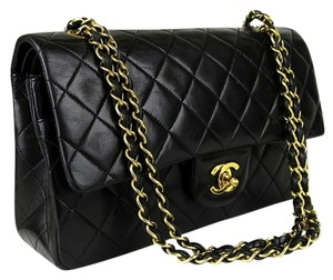 Chanel Medium 2.55 255 Classic Double Flap Shoulder Bag