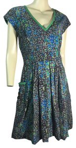 Andrew Marc short dress Green, Gray, blue on Tradesy