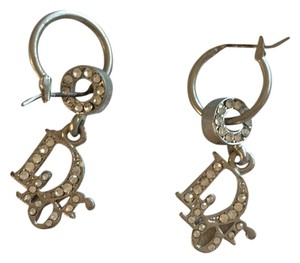 Dior Dior Silver vintage earrings