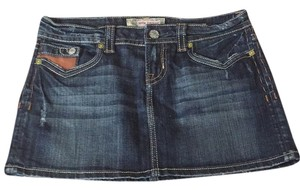 MEK DNM Mini Skirt Dark wash