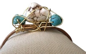 Other 50% OFF -- Rough turquoise howlite bracelet