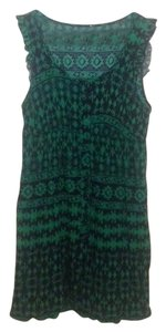 Modcloth short dress Green & Blue on Tradesy