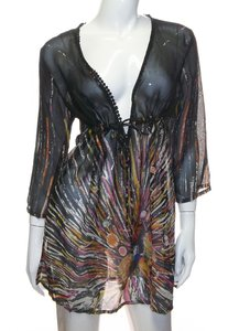 InGear InGear Multi Color Beach Full One Size Fit All Cover Up