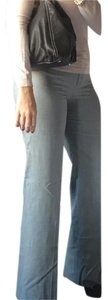 BCBGMAXAZRIA Wool Boot Cut Pants Grey
