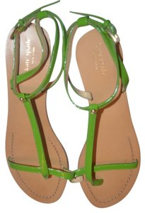 Kate Spade Patent Leather Green Sandals