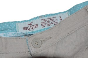 Hollister Cuffed Shorts beige