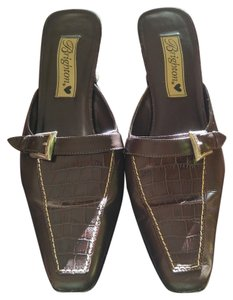 Brighton Brown Mules