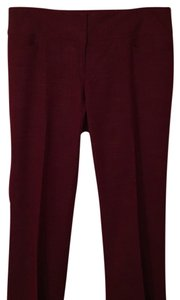 The Limited Boot Cut Pants Maroon