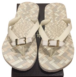 Cole Haan Ivory Sandals