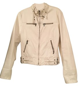 Guess Leather Motorcycle Moto Luxe Motorcycle Jacket
