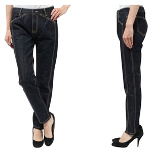 Kate Spade Saturday Utility Relaxed Fit Jeans-Dark Rinse
