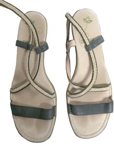 Camper Sandal black Wedges