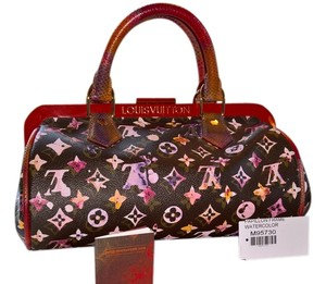 Louis Vuitton Watercolor Satchel in Multi