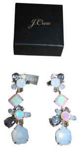 J.Crew J.CREW CRYSTAL CLUSTER EARRINGS MARINE SALT