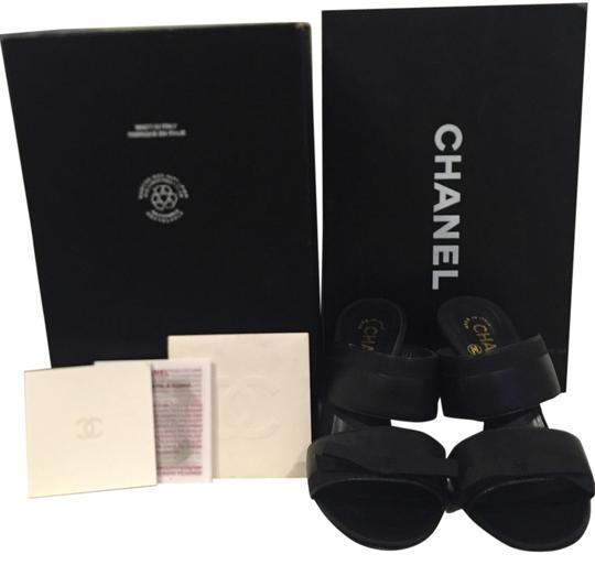Preload https://img-static.tradesy.com/item/11151340/chanel-black-with-leather-trim-with-cc-logo-mulesslides-size-us-65-regular-m-b-0-1-540-540.jpg