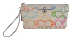 Coach SCRIBBLE LARGE WRISTLET