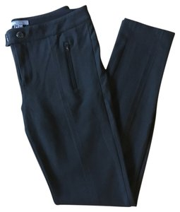 Vince Stretch Ponte Jersey Skinny Pants Black